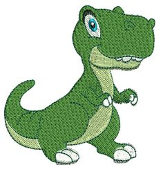 Dinosaur Embroidery Design