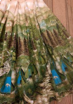 Border Print, Novelty Print, Vintage Fabrics, Printed Skirts, Printing On Fabric, Outdoor Blanket, My Style, Prints, Separates