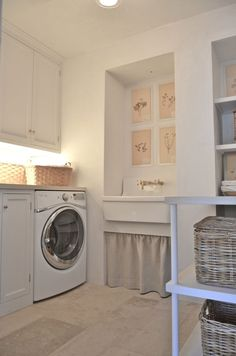 Our Laundry Room #patinafarm #GiannettiHome