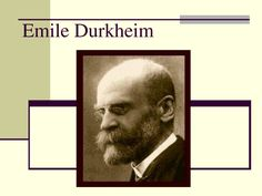 emile durkheim a pioneer of sociology Functionalist sociologist emile durkheim saw education as performing two major functions in advanced industrial societies – transmitting the shared values of society and simultaneously teaching the specialised skills for an economy based on a specialised division of labour.