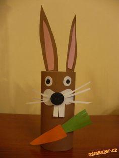 Jarní a velikonoční výzdoba z ruliček Cup Crafts, Easy Crafts, Diy And Crafts, Arts And Crafts, Cardboard Tube Crafts, Toilet Paper Roll Crafts, Paper Crafts, Animal Crafts For Kids, Easter Crafts For Kids