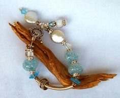 I Hear A Mermaid's Call Bracelet by Ribbons10 on Etsy