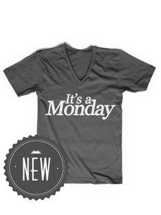 IT'S A MONDAY V-NECK