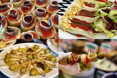 Spanish anchovies 4 ways-- they are soooo good!