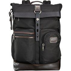 Tumi Alpha Bravo Luke Roll-Top Backpack - eBags.com
