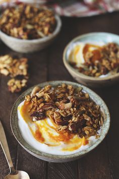 There are plenty of pumpkin spice recipes out there, but none as good as the ultimate pumpkin spice granola. The perfect breakfast recipe all season long.