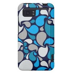 Blue Colors of Floral Gift HTC Vivid / Raider 4G Cover