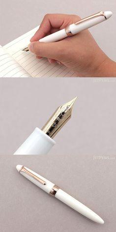 Klassische Perle Golden Ring Pen School Office Student