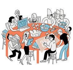 Mutinerie - co-working space in Paris /// Monocle Magazine 66 - ♨ Tomi Um ♨