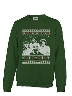 ugly christmas sweater golden girls queens