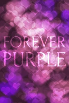 Forever Purple Sacra