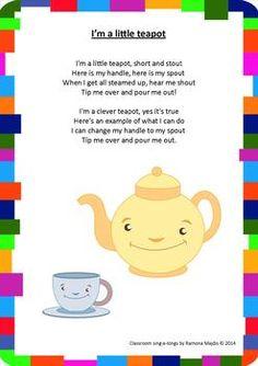 Classroom Sing-a-longs. 20 popular nursery rhymes great for preschoolers!