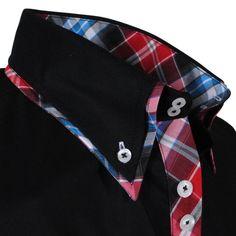 Exclusive trendy Italian black Carisma dress shirt http://eurodress.co.nz?utm_content=buffer265ac&utm_medium=social&utm_source=pinterest.com&utm_campaign=buffer Sign up for our newsletter to get 15% off! #menswear #fashion #european #trendy