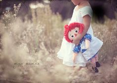 I love Raggedy Ann...But this would be an Elmo or Abby doll for L's Pics