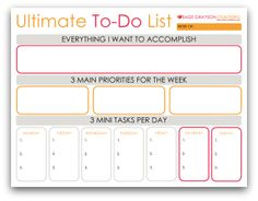 In Keeping With GoalSetting Free Printable  Daily Planning