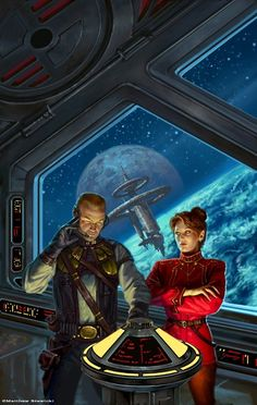 Honor Harrington on the Bridge  #spaceships  #spacecraft  #scifi