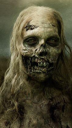 Walking Dead the BEST series on tv!The Walking Dead the BEST series on tv! The Walking Dead, Walking Dead Zombies, Walking Dead Makeup, Horror Makeup, Zombie Makeup, Sfx Makeup, Creepy Faces, Creepy Art, Arte Horror