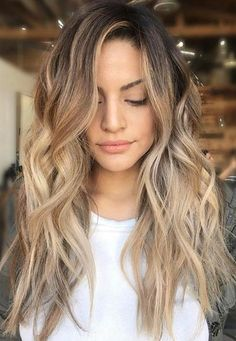 wavy hair. #ombre