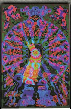 East Totem West http://easttotemwest.com/ San Francisco, CA and elsewhere info@easttotemwest.com #trippy #colorful #posters #psychedelic