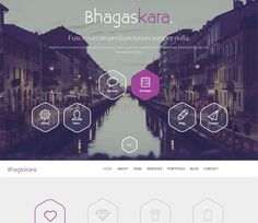 Bhagaskara a onepage Multipurpose Flat Bootstrap Responsive web template by w3layouts