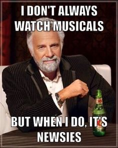 Pretty much, yeah. Except for when I watched the bootleg of DEH... And Shrek the Musical, but we don't talk about that. #massagememes