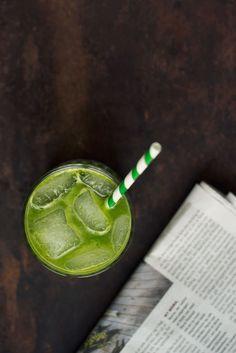 Opskrift: Grøn juice med grønkål