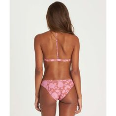 Alternate Product View 3 for Rosy Waves Triangle Bikini Top SIENNA