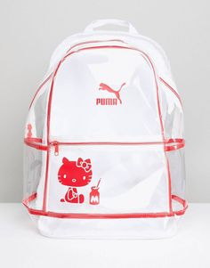 Puma X Hello Kitty – Transparenter Rucksack 30345b96d991c