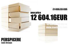 Perspicere chest of drawers by Latvian designer Janis Straupe. Purchase on TRUE LATVIA http://truelatvia.lv/en/true-ziimoli-452721/janis-straupe-wood
