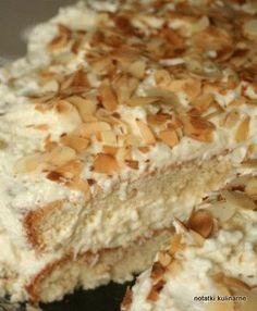 Szybki tort Rafaello
