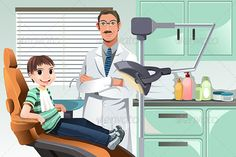 Kid in Dentist Office  #GraphicRiver         A vector illustration of a kid in the dentist office. Vector illustration, zip archive contain eps 10 and high resolution jpeg.     Created: 2November13 GraphicsFilesIncluded: VectorEPS Layered: No MinimumAdobeCSVersion: CS Tags: boy #cartoon #cavity #checkup #child #clinic #dental #dentalcare #dentist #dentistry #doctor #drawing #examination #health #healthcare #healthy #hospital #illustration #kid #male #man #medical #office #oral #patient…