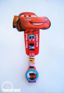 Original DISNEY watch for kids - CARS wristwatch, McQueen