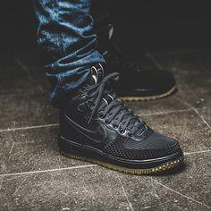Nike Lunar Force 1 Duck Boot 'Black' |