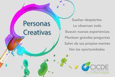 Personas Creativas #emprender, #infografía, #emprendedor