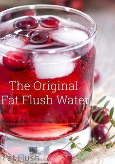 Fat-Flush-water-cranberry