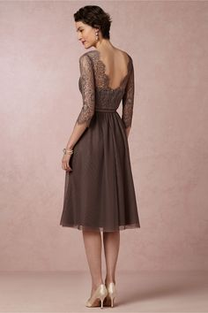 Sapphire Dress from BHLDN - Stunning Mother of the bride dress.  Not too frumpy methinks!