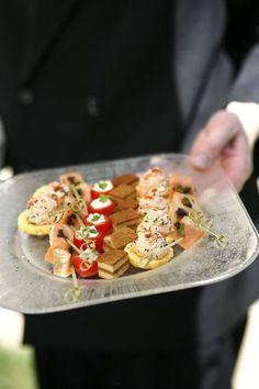 #appetizers  Photography: Belathee - www.belathee.com  Read More: http://www.stylemepretty.com/2010/01/27/french-wedding-by-belathee/