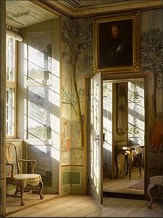Painted walls and sunbeams ~ A poem begins in delight and ends in wisdom.  Robert Frost