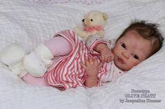 """NEW Reborn ~ Baby Olive ~ 18.5"""" Vinyl Doll Parts Kit by Denise Pratt 2948   eBay"""