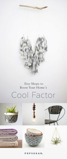 19 Etsy Shops to Boost Your Home's Cool Factor