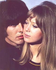 George & Pattie.