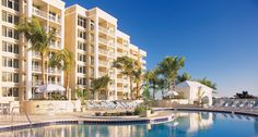 Marco Beach Ocean Resort® (Marco Island, Florida): Sweeping views of sugar-white beachfront, the Gulf of Mexico, and watercolor sunsets create a haven of tranquility at this resort! #travel #Florida #beach