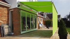 Markilux 6000 full cassette 4.5 x 3 m awning, sunvas fabric 31476. Extras include: 2100 automated shade,2000 watt heater including receiver and 2 spot lights with receiver.