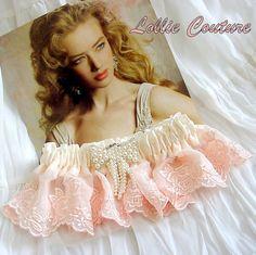 Bridal Lingerie Garters от lolliecouture на Etsy