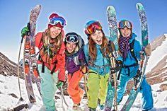 Icy Ladies!