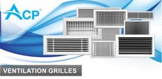 Ventilation grilles for HVAC installations.  More: http://www.acp.ro/produse/?filter_portfolio_category=grilles