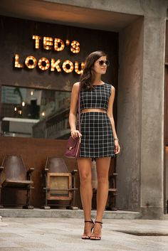 DIY MATCHING CROP TOP AND SKIRT 6 by apairandaspare, via Flickr