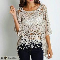 Fabulous Crochet a Little Black Crochet Dress Ideas. Georgeous Crochet a Little Black Crochet Dress Ideas. Gilet Crochet, Crochet Shirt, Crochet Jacket, Crochet Cardigan, Crochet Hats, Knit Poncho, Crochet Designs, Crochet Patterns, Hat Patterns