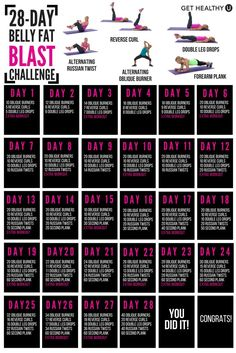 Belly Fat Workout - Weve set up a FREE ab challenge to blast belly fat! Combine this challenge with your own strength and cardio workouts and youll have flat abs in no time! Do This One Unusual Trick Before Work To Melt Away 15 Pounds of Belly Fat Cardio Training, Cardio Workouts, Workout Tips, Thigh Workouts, Abs Workout Routines, At Home Workout Plan, At Home Workouts, Gym Workout Plan For Women, Beginner Workout At Home