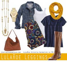 #cblsahmstyle Style Board #1: LuLaRoe Leggings